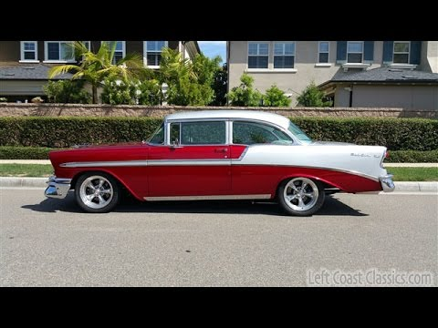 1956 Chevrolet Belair for Sale in Candy Apple Red