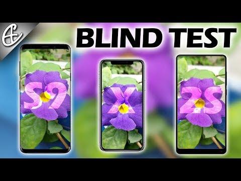 Mi MIX 2S vs iPhone X vs Galaxy S9 Plus Camera Comparison - BLIND TEST!
