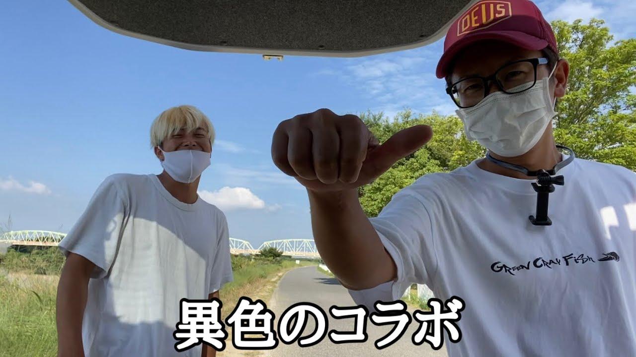 今一番勢いのあるバス釣りYouTuberを紀ノ川に呼んでみたら…