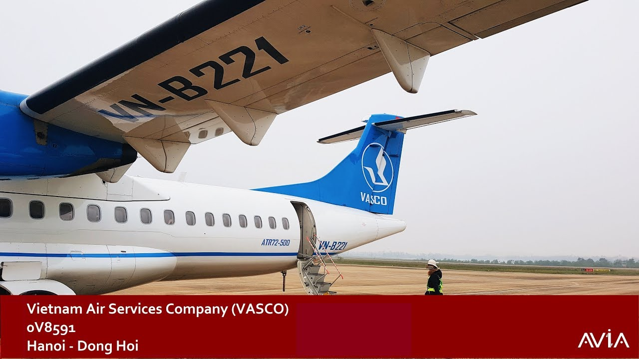 TRIP REPORT | Vietnam Air Services Company (VASCO) (ECONOMY) | Hanoi – Dong Hoi | ATR 72