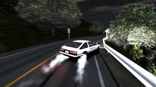 GTA IV Initial D # Drifting AE86 Fujiwara Takumi-The Drift Tofu Delivery Boy