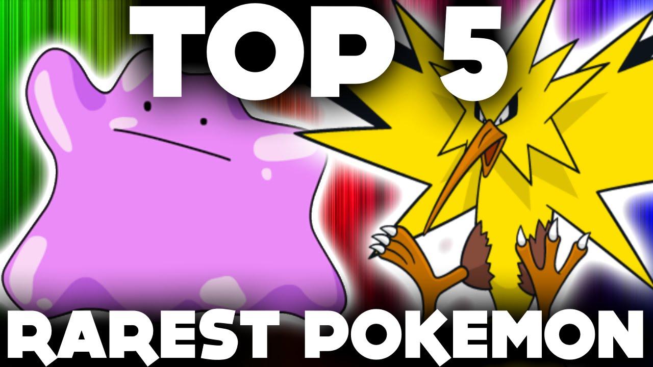 Top 5 rarest pokemon to catch in pokemon go rare pokemon - Pokemon argent pokemon rare ...