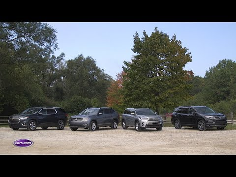 2017 Three-Row SUV Comparison: Results — Cars.com