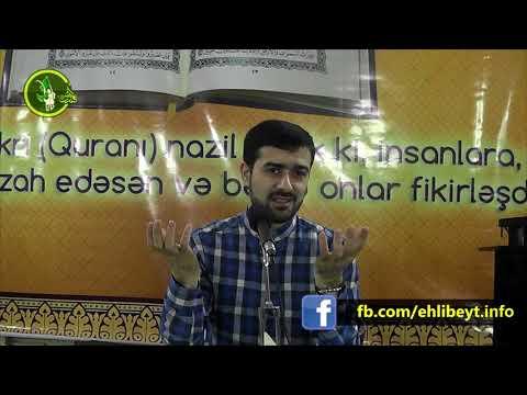 Haci Samir Quran Tefsir meclisi (Quranda İslam dinin mahiyyəti )14032018