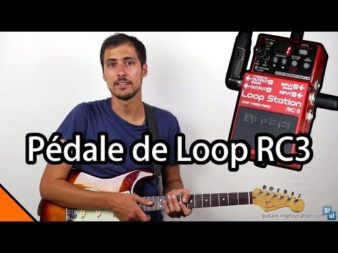 Pédale de loop RC3 : Fonctionnalités de base