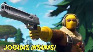 5 JOGADAS MAIS INCRIVEIS DO FORTNITE!