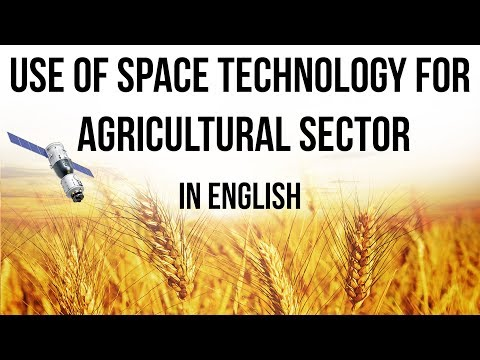 Agriculture Ministry on use of Space Technology for farmers, Overview of projects from 1980s to now