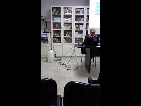 Comunicación prof. Abdelwahed Akmir Colegio Español de Rabat 1/2
