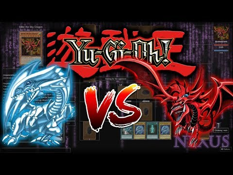 Blue Eyes VS Egyptian Gods! | Dueling Nexus