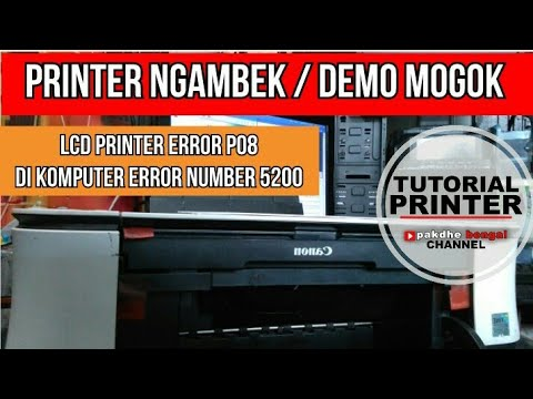 Cara Instal Printer Canon iP2770 | Tanpa Cd Driver.