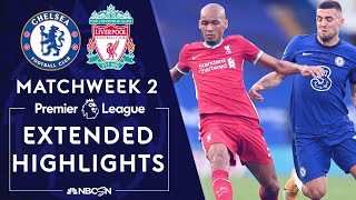 Chelsea v Liverpool PREMIER LEAGUE HIGHLIGHTS 9 20 2020 NBC Sports