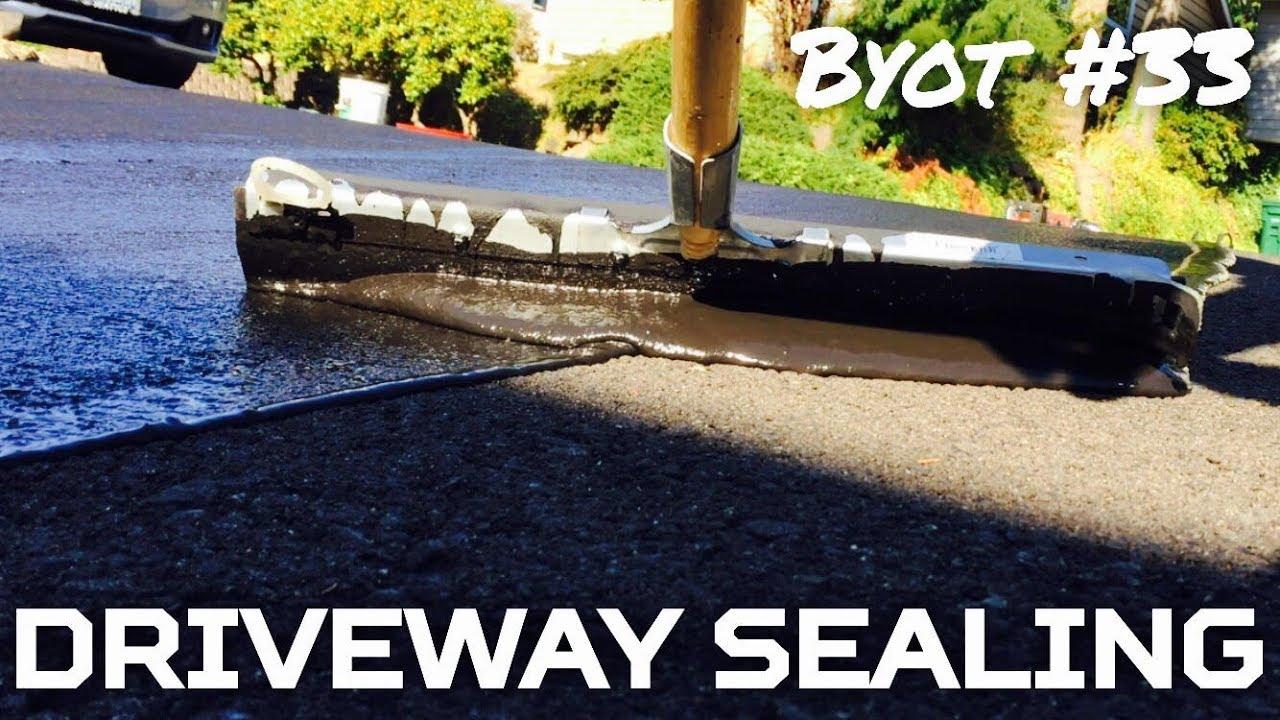 Diy driveway sealing youtube diy driveway sealing solutioingenieria Choice Image