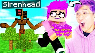 Can LANKYBOX Survive SIRENHEAD In MINECRAFT?! (LankyBox Minecraft Movie!)