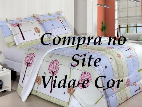 06dbd9d45f Compra no site vida e cor - YouTube