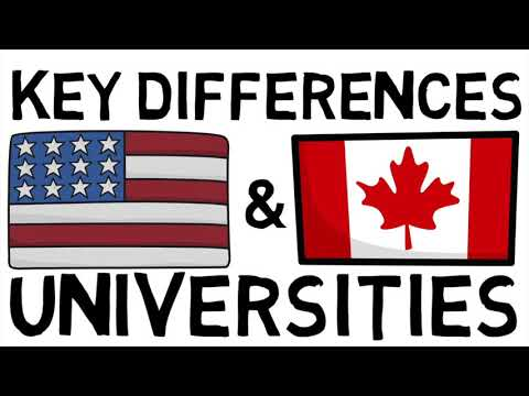 CANADA Vs USA | Which Colleges Are Better!?