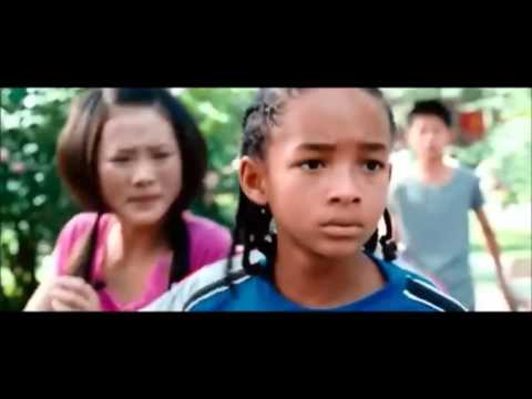 The Karate Kid - The Park Fight (2010) HD
