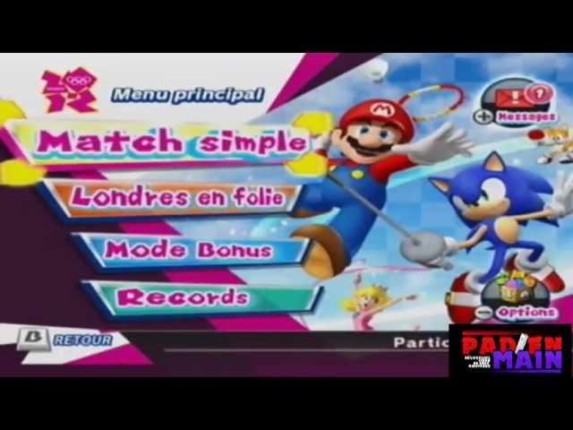 Promo Mario Sonic Aux Jeux Olympiques De Londres 2012