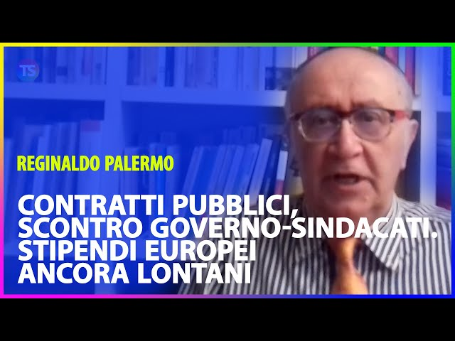 Contratti pubblici, scontro Governo-sindacati. Stipendi europei ancora lontani