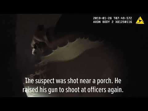 Fatal police shooting recorded on police body cameras