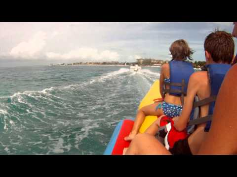 Banana Boat Ride in Turks and Caicos!