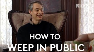 Jacqueline Novak Talks To Therapist Dr. Peter D. Kramer | How To Weep In Public | RIOT