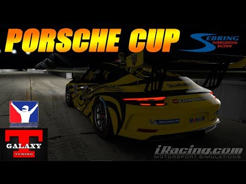 iRacing | Sebring International - Porsche 911 GT3 CUP