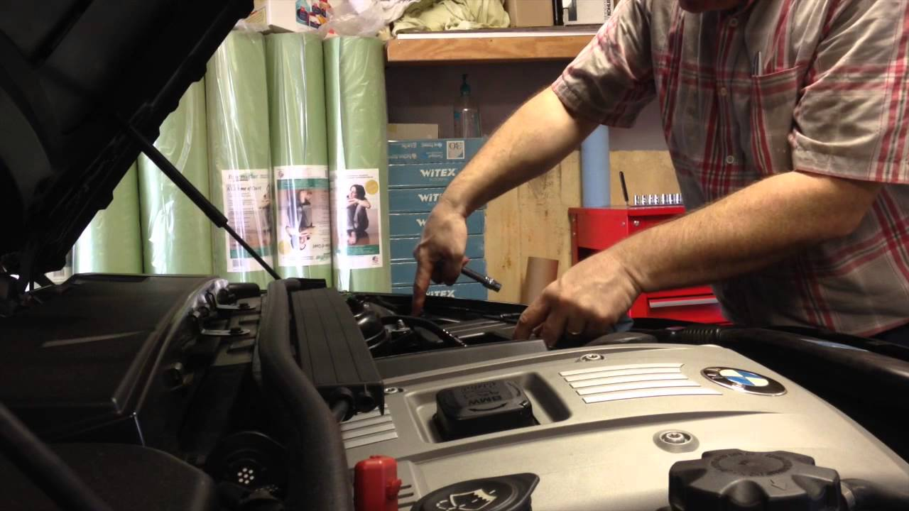 BMW Oil and Filters Change 2006 E90 330i  YouTube