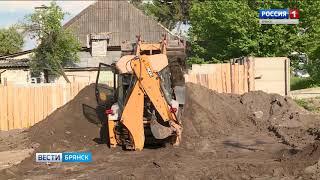 В Брянске расширяют дорогу на Городищенской горке