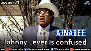 Johnny Lever is confused (Ajnabee)