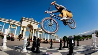 BMX riding in Kazakhstan - Red Bull Street Hero Tour 2012