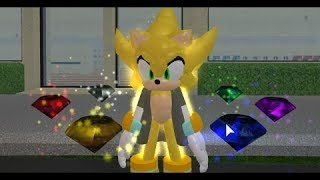 Crossover Sonic 3D RPG V3 - Remake map All Chaos Emeralds location's - Roblox