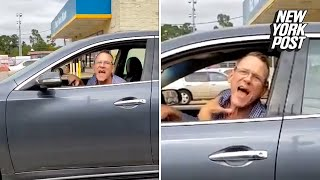 Racist Road Rager Harasses Hispanic Woman After She Voted   New York Post