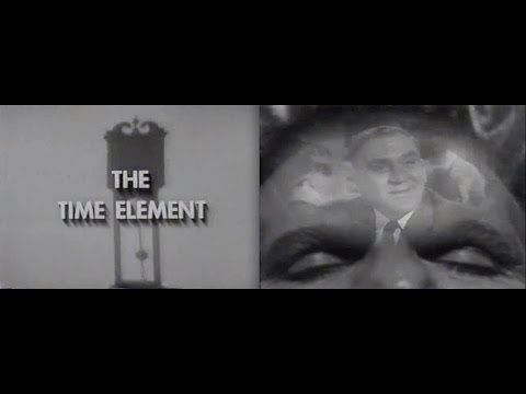 "THE TWILIGHT ZONE - Prototype for series: ""The Time Element"""
