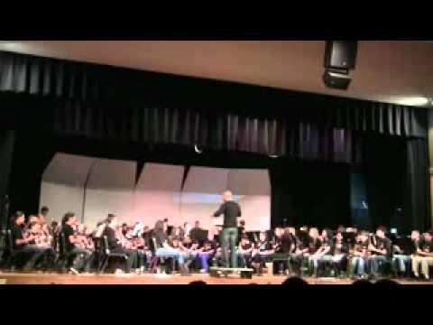 WANTAGH SCHOOL BAND DAY 2012:KOREAN HILL SONG