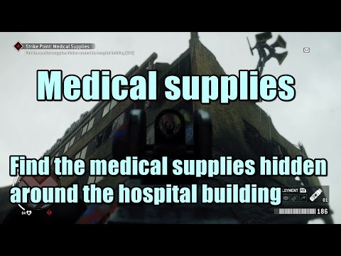 Homefront the Revolution Find the medical supplies hidden around the hospital building