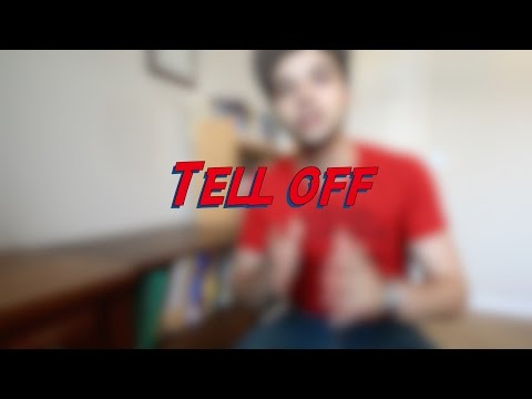 Tell off - W16D5 - Daily Phrasal Verbs - Learn English online free video lessons