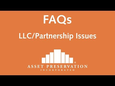 LLC Partnership Issues in a 1031 Exchange | FAQ | Asset Preservation, Inc.