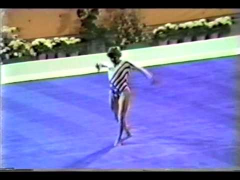 3rd EF USA Mary Lou Retton FX - 1984 Olympic Games 19.775