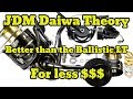 JDM Daiwa Theory  Unboxing Overview and Tear down Better than the Ballistic LT! Crazy Price!