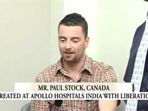 Medical Tourism Patient Testimonial at MedicYatra's Network Hospital Apollo Chennai.flv