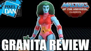 Granita Masters of the Universe Classics Figure Video Review