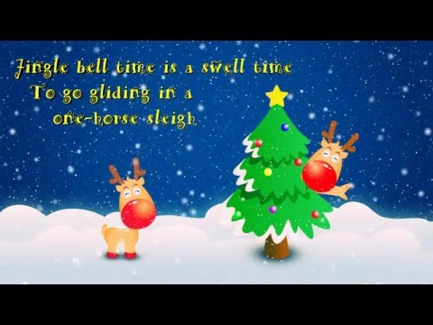 Jingle Bell Rock - Hilary Duff (Lyric Video)
