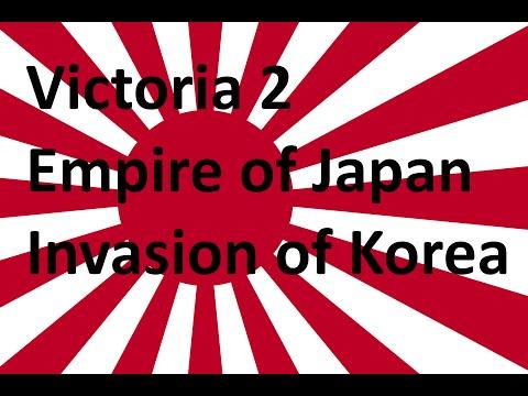 Victoria 2 Japan  Part 1 - Invasion Of Korea