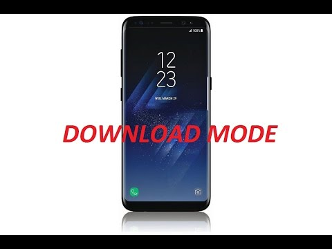 how to open download mode galaxy s8