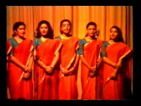 IISD FOUNDATION DAY 99-2000_WELCOME SONG_SECONDARY GIRLS SECTION ...