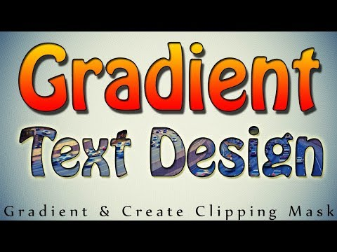 How To Add Gradient To Text In Photoshop