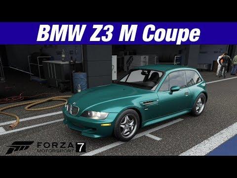 Forza Motorsport 7 Bmw Z3 M Coupe Forza Vistatest Drive Youtube