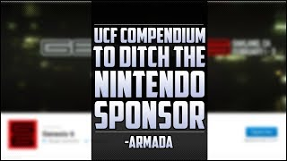 """UCF compendium to ditch the Nintendo sponsor!"" -Armada [Stream highlights ft Leffen]"