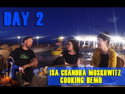 Isa Chandra Moskowitz Cooking Demo - Vegan Cruise Day 2