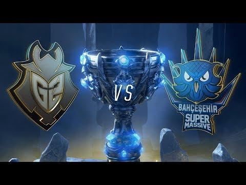 G2 vs SUP | Play-In Groups | 2018 World Championship | G2 Esports vs Bahçeşehir SuperMassive (2018)